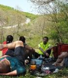 Ovacık - Mudarlı arası piknik alanı