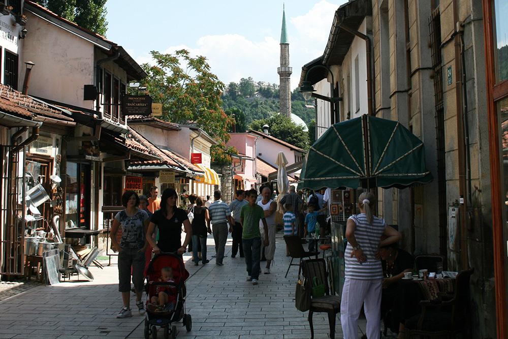 Saraybosna Gezi Notları - Saraybosna Basçarşı Sokakları