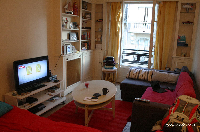 Paris'te kaldığımız ev