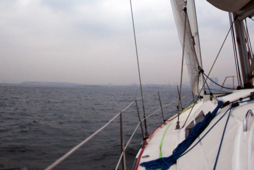 Yelkenli ile seyir - Adalar
