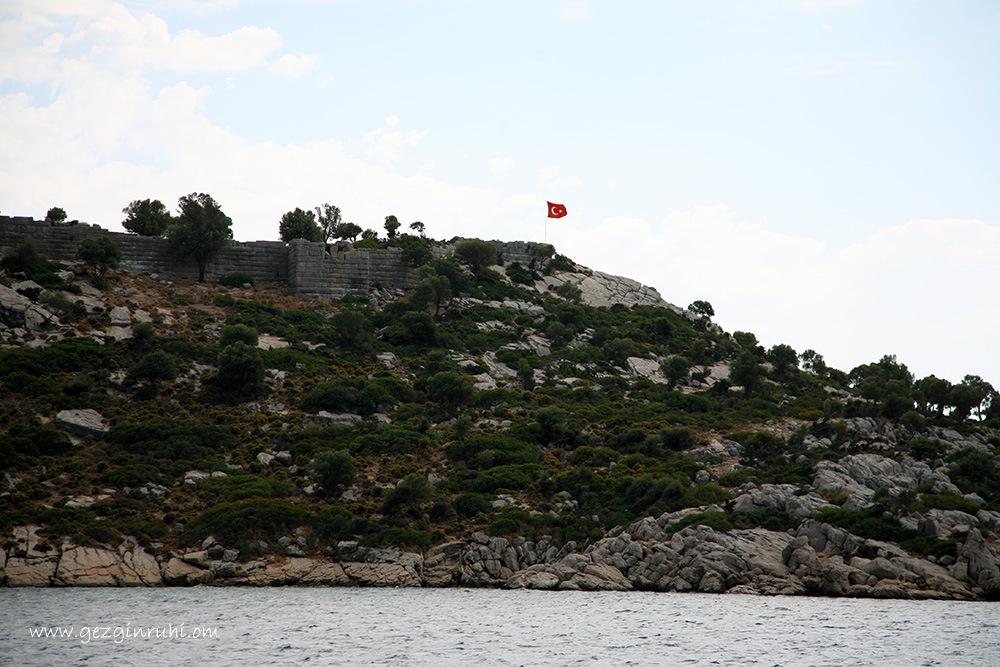 Loryma Kalesi - Bozukkale, Marmaris