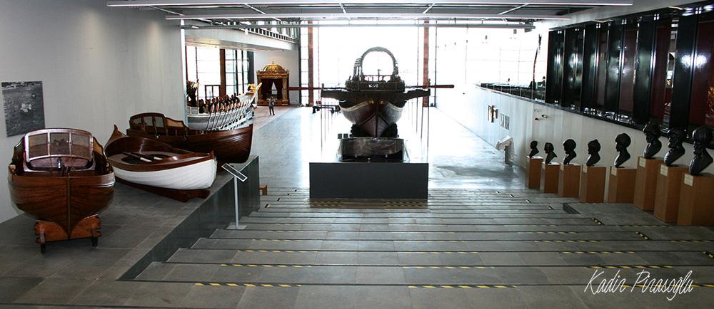 İstanbul Deniz Müzesi - Ana fuaye salonu
