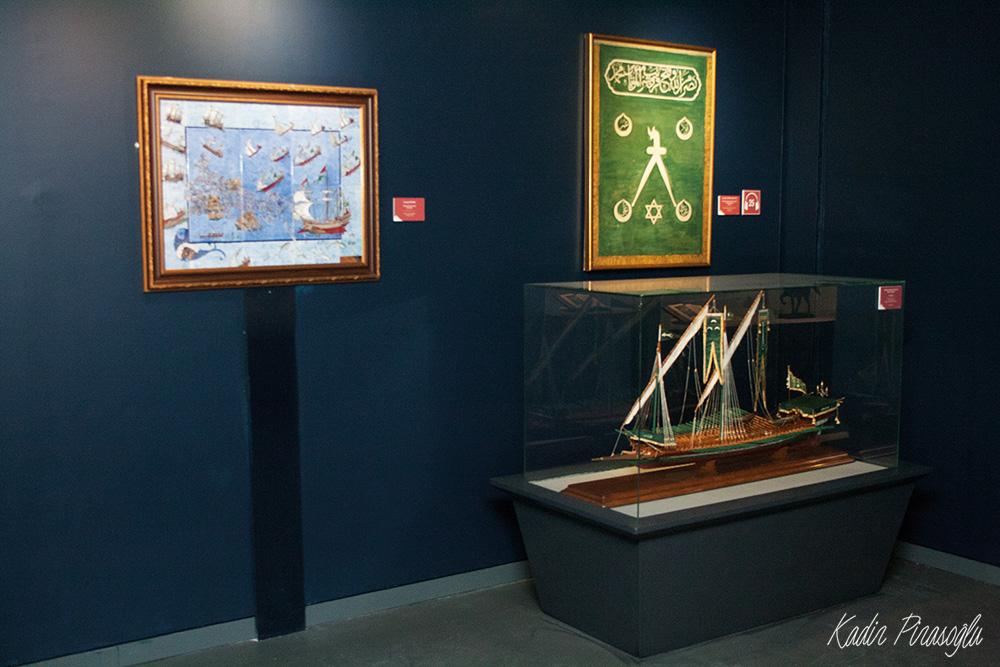 Barbaros Hayrettin Paşa'nın gemi maketi