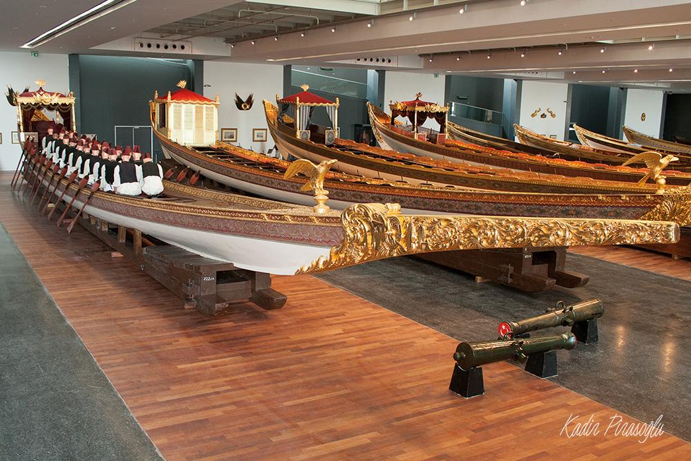 İstanbul Deniz Müzesi - Saltanat Kayıkları
