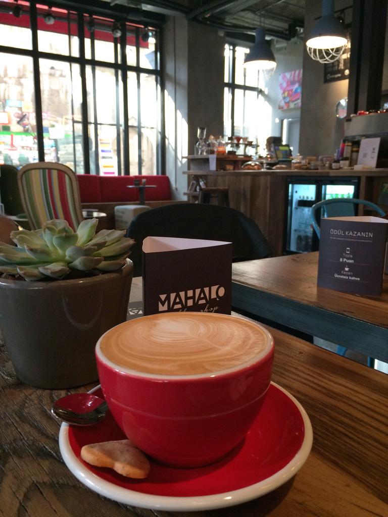 Mahalo Coffee Shop, Karaköy - İstanbul'un en güzel kahve mekanları