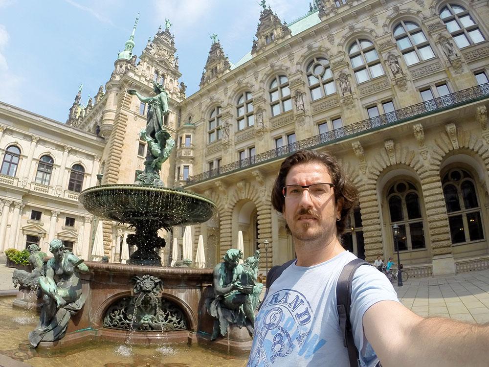 Hamburg Belediye Binası - 2015 Yılında Gezip Gördüğüm Yerler