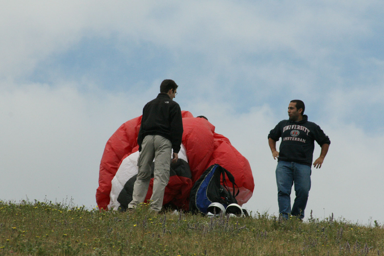 Uçmakdere Yamaç Paraşütü - Hazırlık süreci