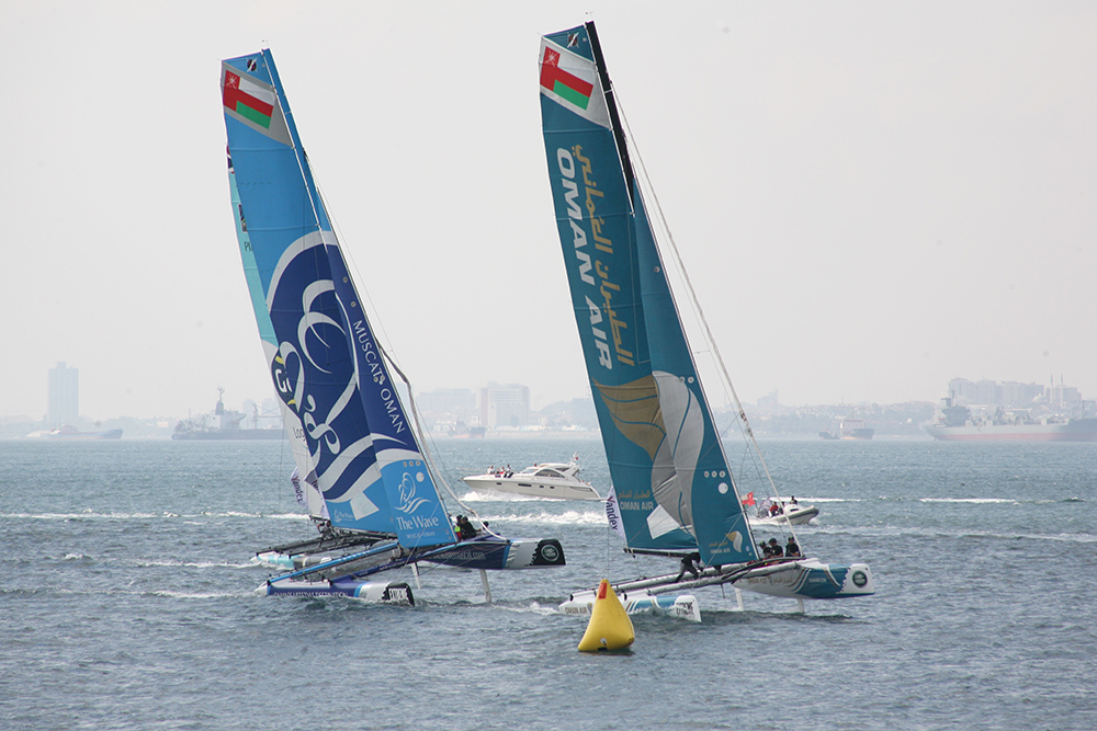 Extreme Sailing Series İstanbul 2015 - The Wave Muscat