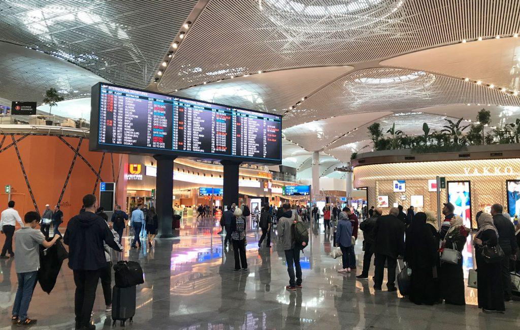 istanbul havalimanı - dış hatlar terminali
