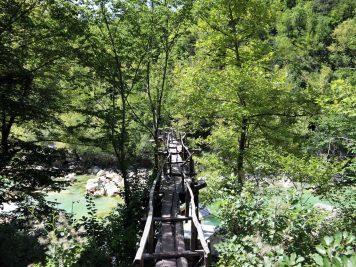 Devekani Çayı Ahşap Köprü
